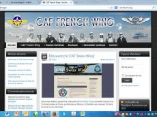 "CAF French Wing: See ""Friends"""